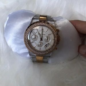 Michael Kors transparent watch
